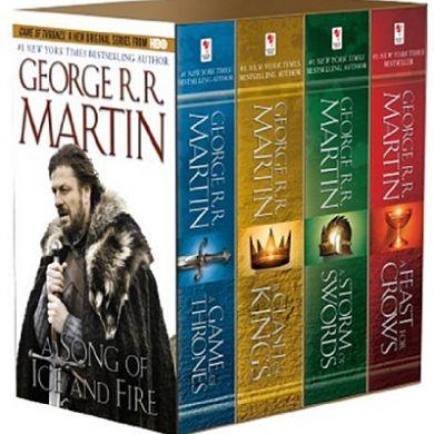 A Song of Ice and Fire  4-Book Boxed Set