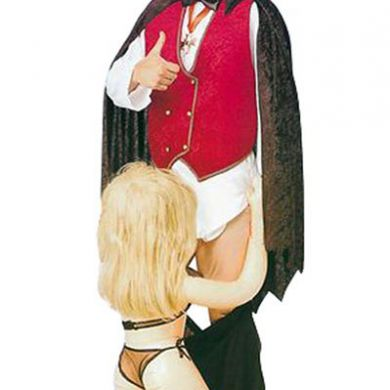 'Down for the Count' - Count Dracula Blowjob Halloween costume