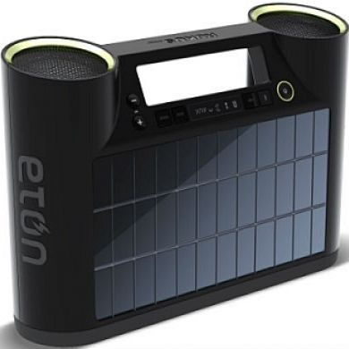 Bluetooth Solar Powered Wireless Speakers