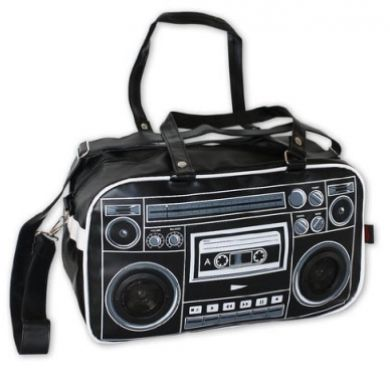 Ghettoblaster Bag With Built-in Speakers