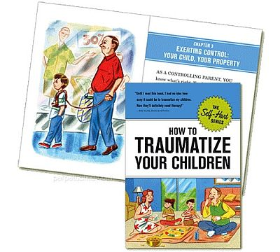 How to Traumatize Your Children - HC 2007 - The Self-Hurt Series - Knock Knock