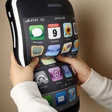 iPhone Shaped Pillow