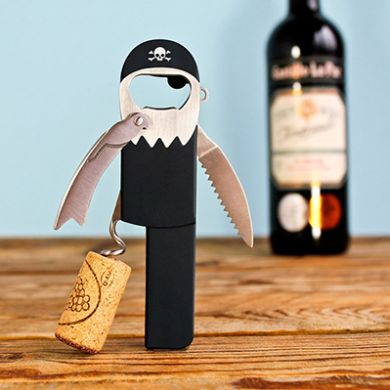 Legless Corckscrew: Pirate Style Waiter's Friend Bottle Opener