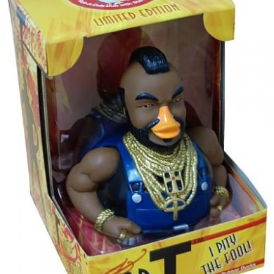 Mr T - I Pity the Fool Rubber Duck