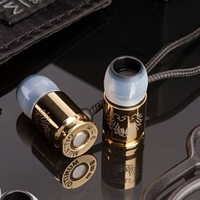 Munitio Bullet Earphones