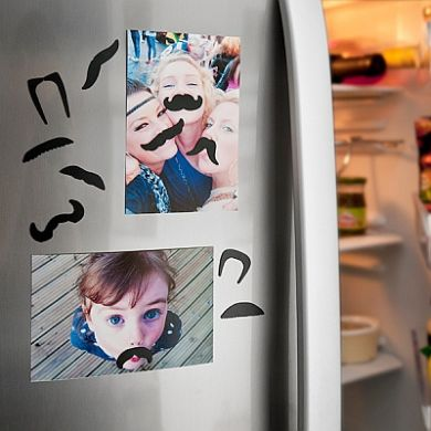 Mustache Fridge Magnets