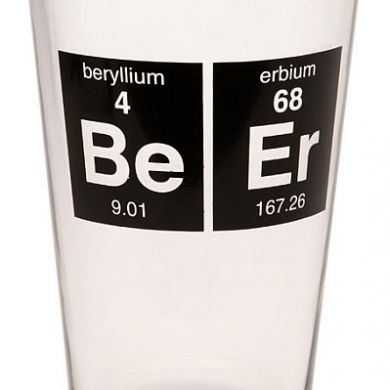 Periodic Beer Glass