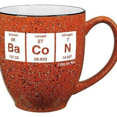 Periodic Table Bacon Mug