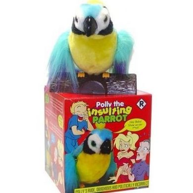 Polly The Insulting Parrot