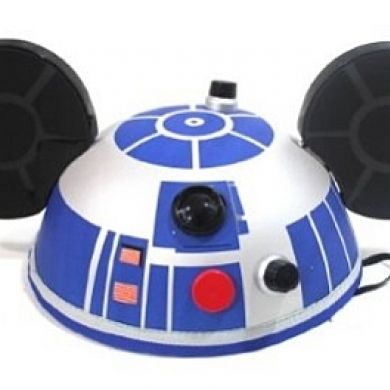 R2D2 Mickey Ears Hat
