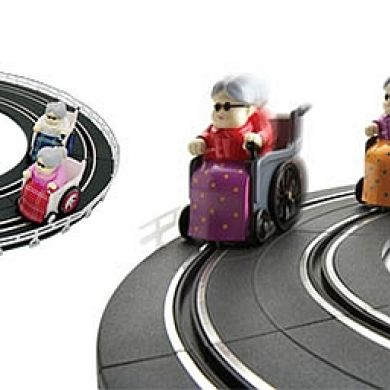 Remote Control Racing Grannies