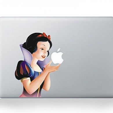 SnowWhite MacBook Sticker