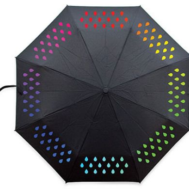 Suck UK Color Change Umbrella