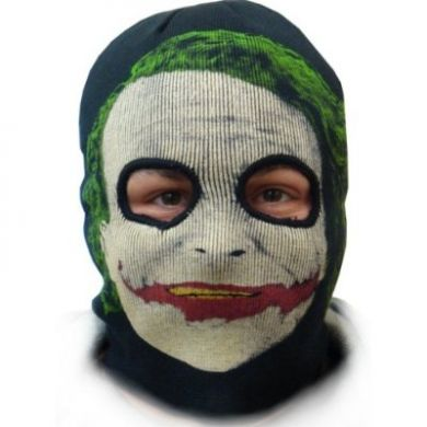 The Dark Knight Joker Combination Ski Mask and Winter Beanie