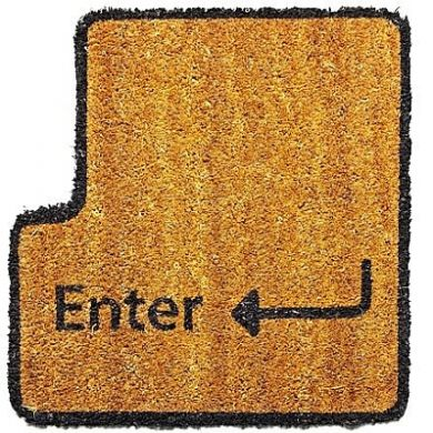 The Enter Key Doormat