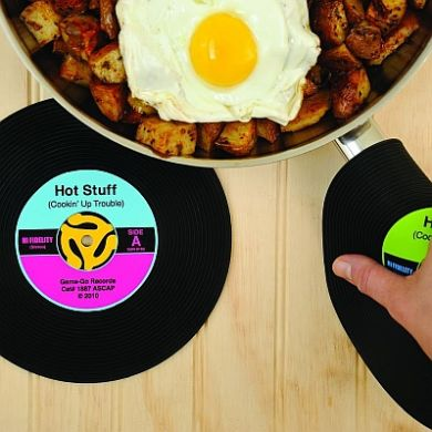 Vinyl Record Pot Holder