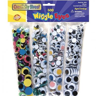 Wiggle Eyes Big Pack